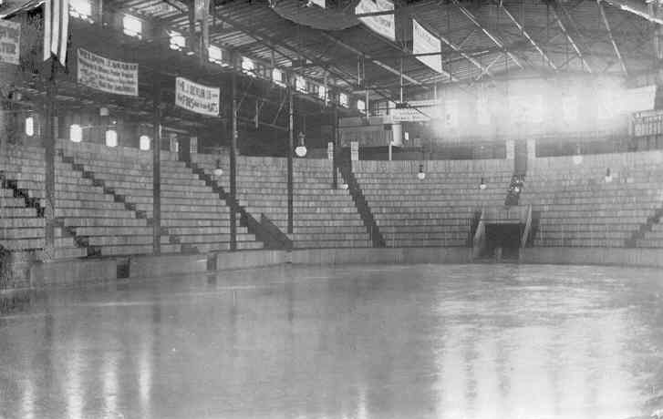Everett Arena in Buffalo was used as a ploy by Jack Connolly to ensure he was able to place a team in Montreal.